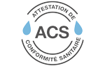 Certificado Agua potable ACS abrazaderas