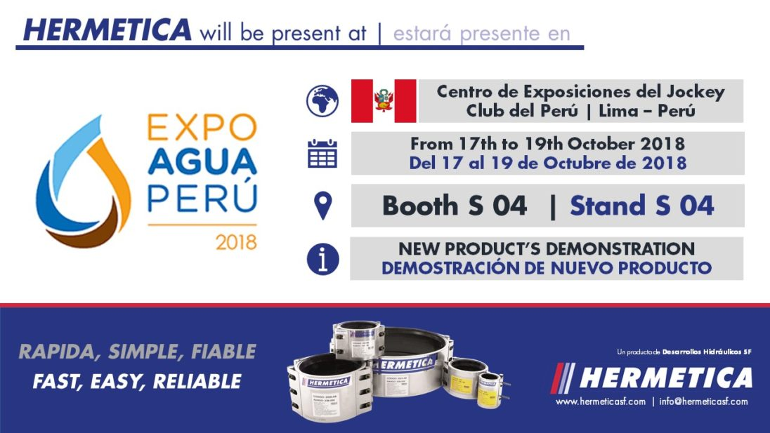 HERMETICA | EXPOAGUA PERÚ 2018