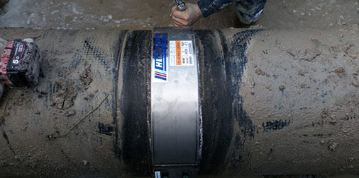 HERMETICA series 100 ND: 550 mm NP: 15 bar