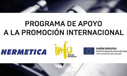 PROGRAMA DE APOYO A EMPRESAS DE LA REGION DE MURCIA DIRIGIDO A LA PROMOCION INTERNACIONAL.