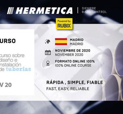 HERMETICA DHSF estará presente en el XX Curso de Diseño de Tuberías