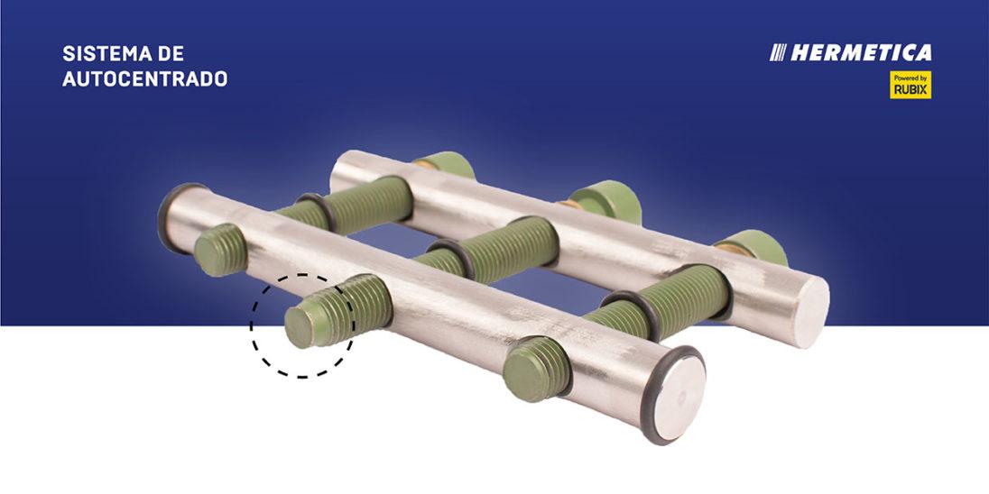 Sistema PILOTO de abrazaderas de conexión y reparación de tuberías